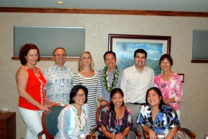 Program faculty and fellows with Dr. Deborah Wing, Visiting Professor- 2012
