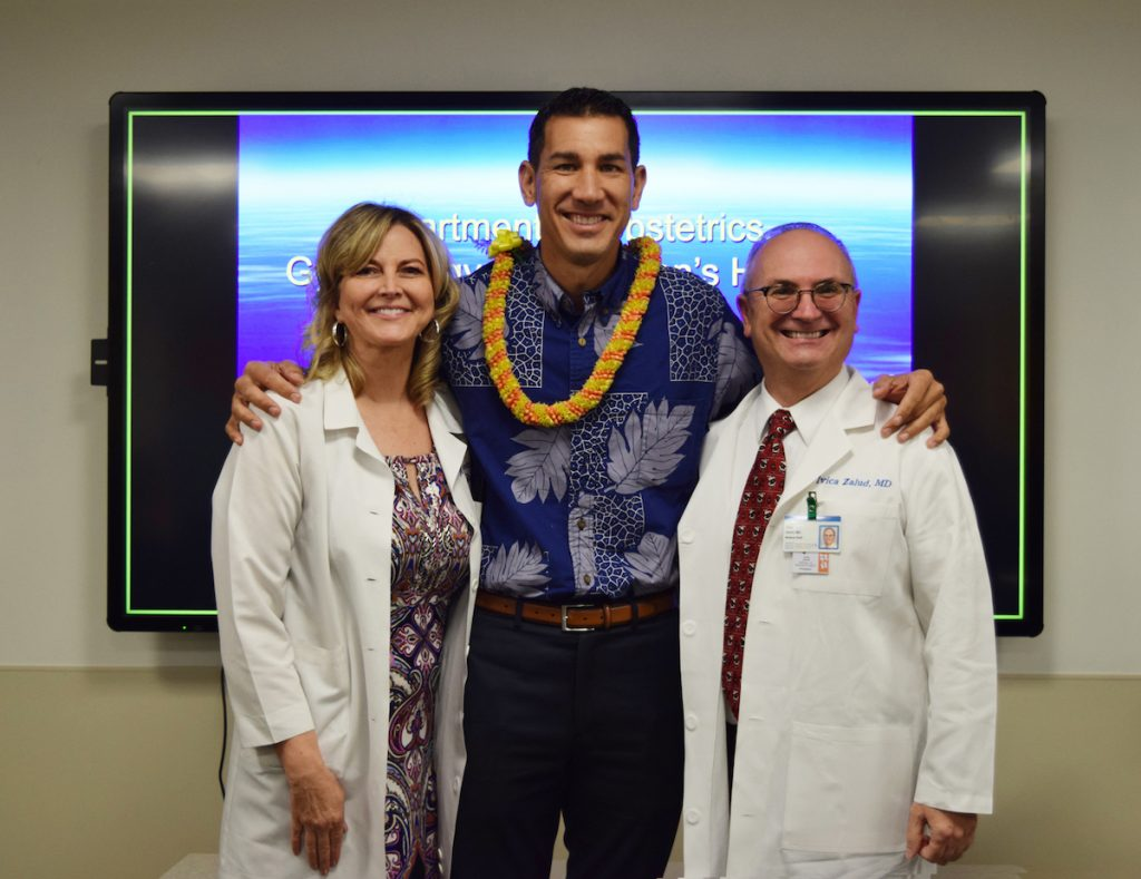 Senator Kai Kahele Visits Our Department Uh Jabsom Obgyn